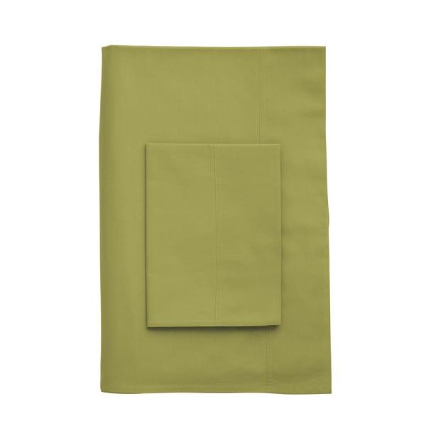 The Company Store Company Cotton Celery 300 Thread Count Percale King