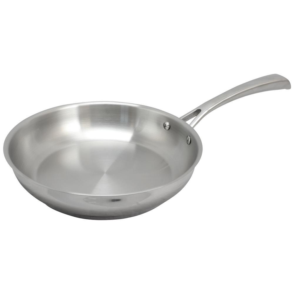 Derrick Stainless Steel Frying Pan