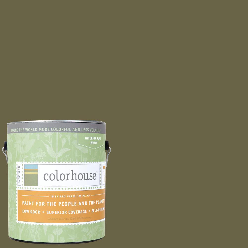 1 gal. Glass .06 Flat Interior Paint