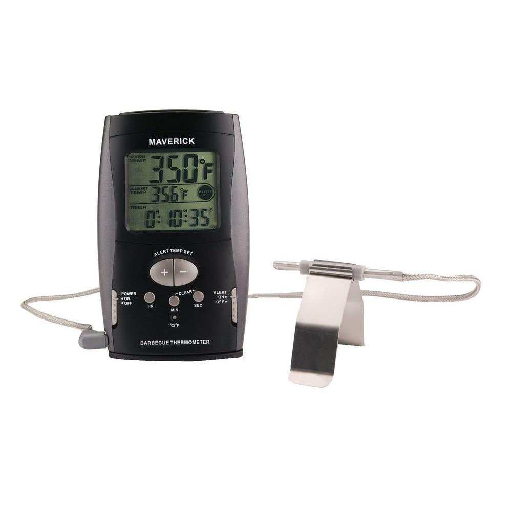 Maverick Digital BBQ Digital Thermometer Black