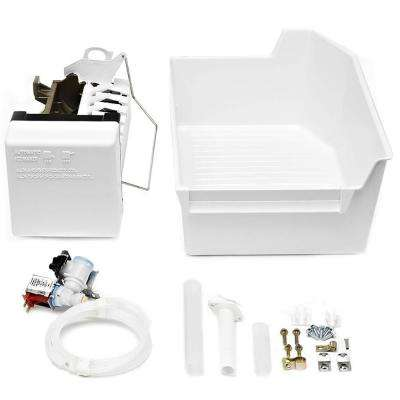 Icemaker Kit for Top Freezer Refrigerators in Plastic