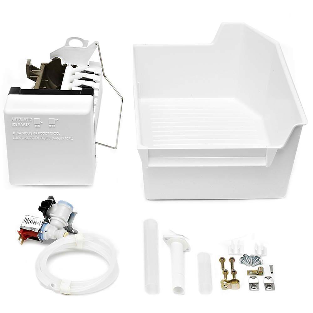 Whirlpool Appliance Parts Appliances The Home Depot Duet Dryer Diagram Gas Icemaker Kit For Top Freezer Refrigerators