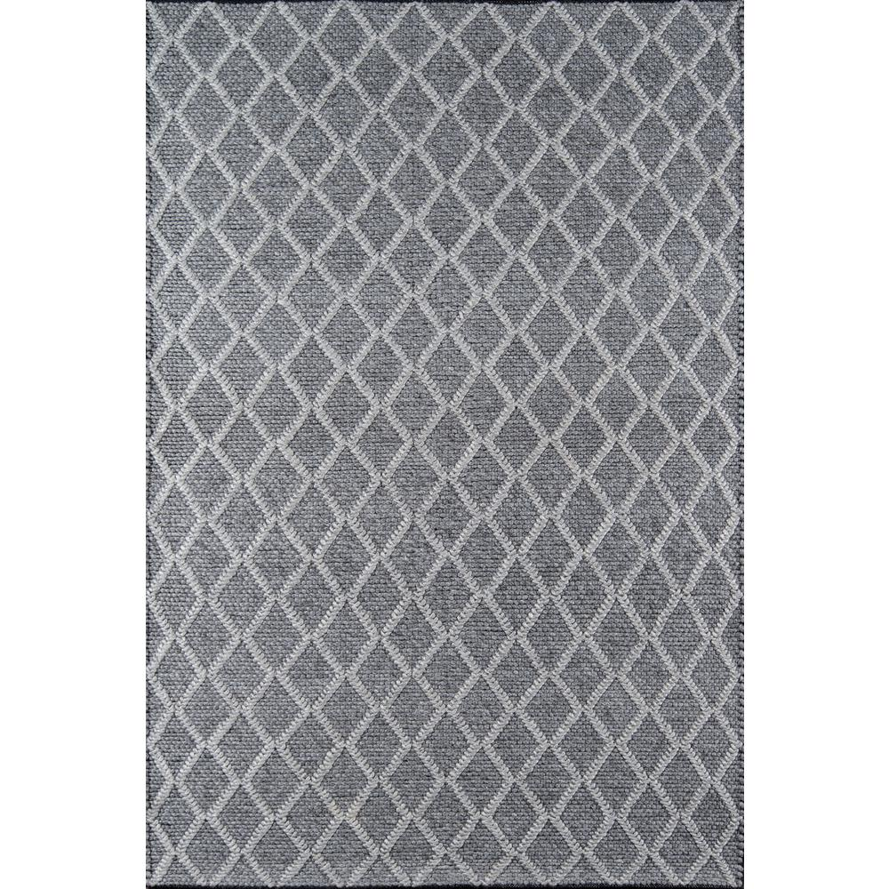Andes Charcoal 5 ft. X 7 ft. Indoor Area Rug
