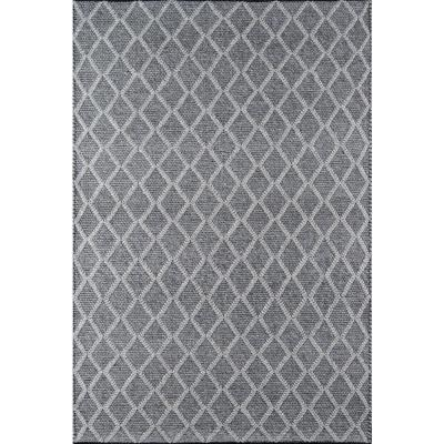 Andes Charcoal 6 ft. X 9 ft. Indoor Area Rug