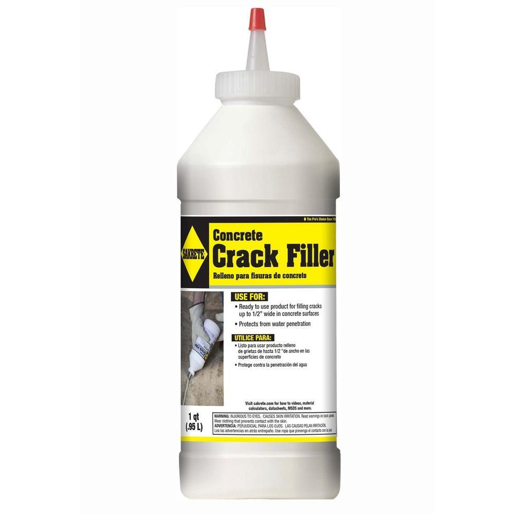 Sakrete Concrete Crack Filler Home Depot