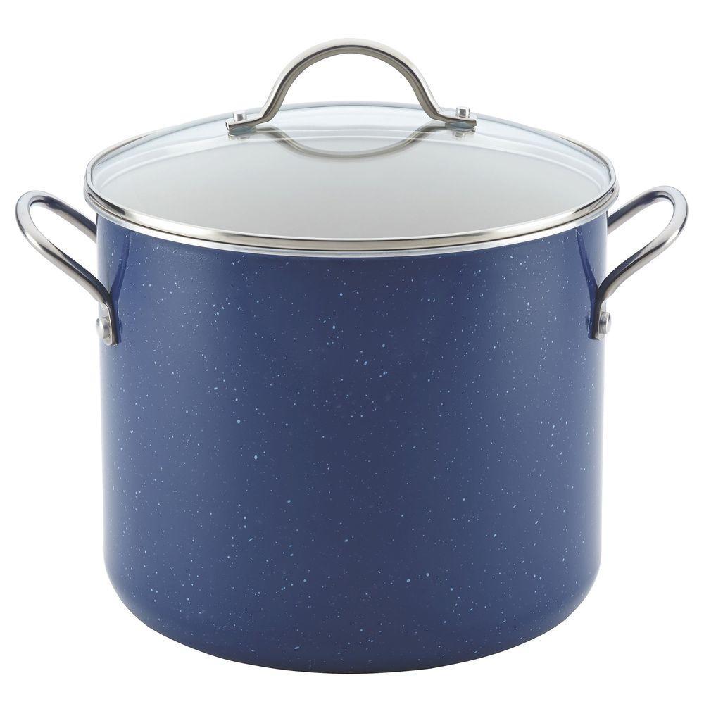 New Traditions 12 Qt. Aluminum Stock Pot with Lid