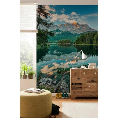 Scenic Landscapes Mirror Lake Wall Mural