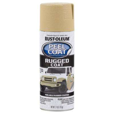 11 oz. Peel Coat Rugged Coat Sand Spray Paint (6-Pack)