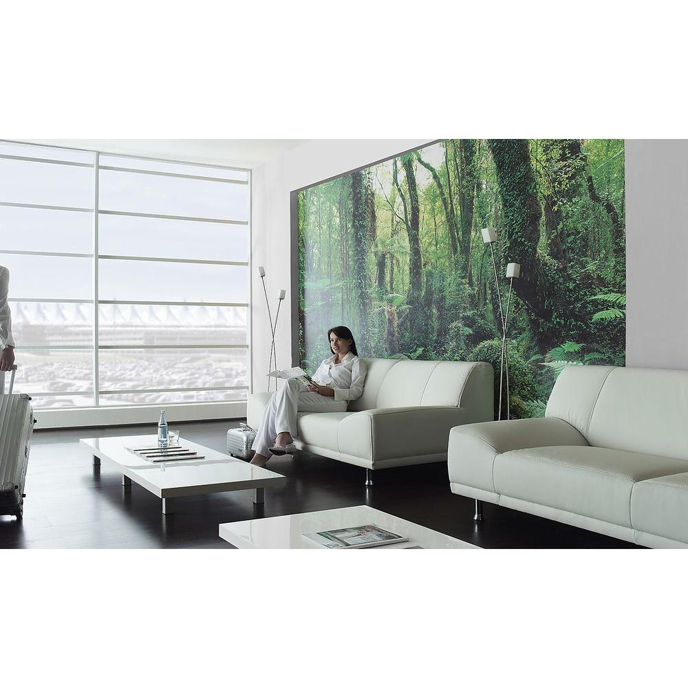 Komar 100 in. x 145 in. Paradise Forest Wall Mural