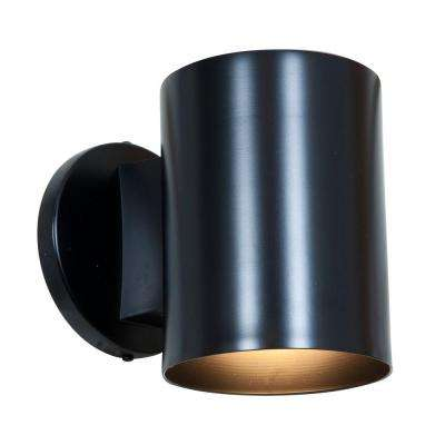 Poseidon 1-Light Black Metal Sconce