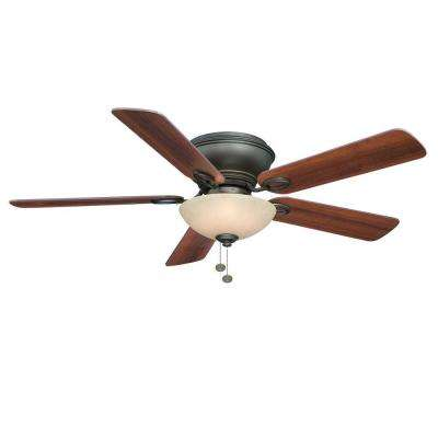 Adonia 52 in. Indoor Oil-Rubbed Bronze Ceiling Fan with Light Kit