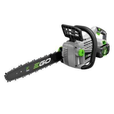 14 in. 56-Volt Lithium-ion Cordless Chainsaw with 2.5Ah Battery and Charger Included