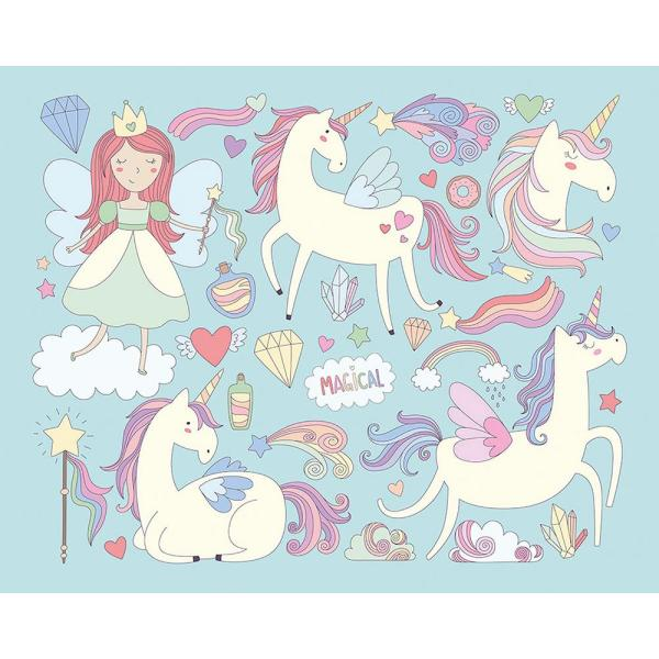 Unicorn Magic Wall Mural