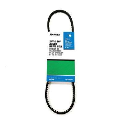Lawn-Boy and Toro Replacement 24 in. and 26 in. Auger Belt for 2-Stage Snow Throwers