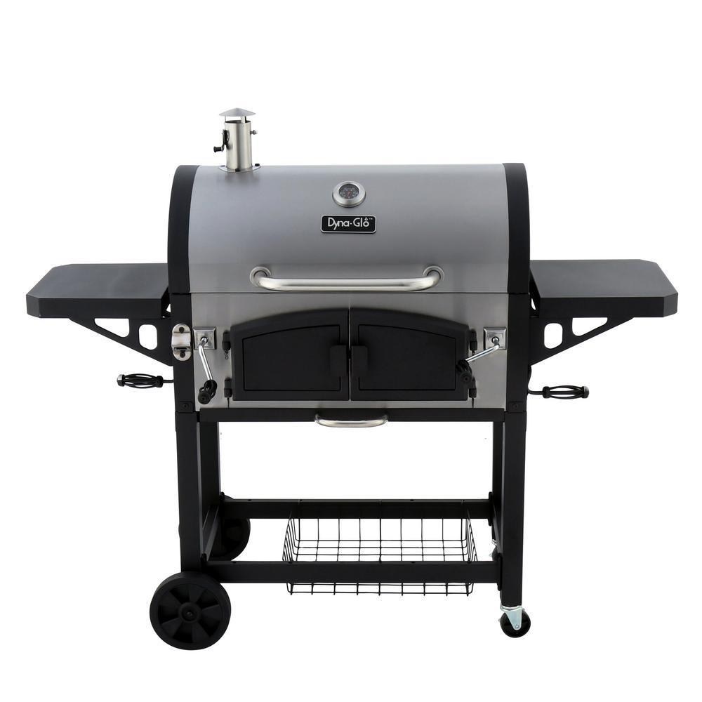 Dual Zone Premium Charcoal Grill - Charcoal Grills - Grills - The Home Depot