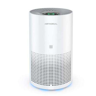 Day Dawning ADH80 7-in-1 True HEPA Air Purifier Car Compatible, 47 CFM 160 Sq. Ft., 7.1 x 11.7 in., White