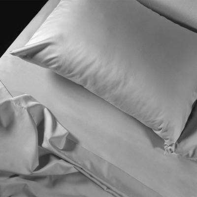 400TC Coolest Comfort Gray King Wrinkle Less Cotton Plus Coolest Comfort Sheet Set with Nanotechnology