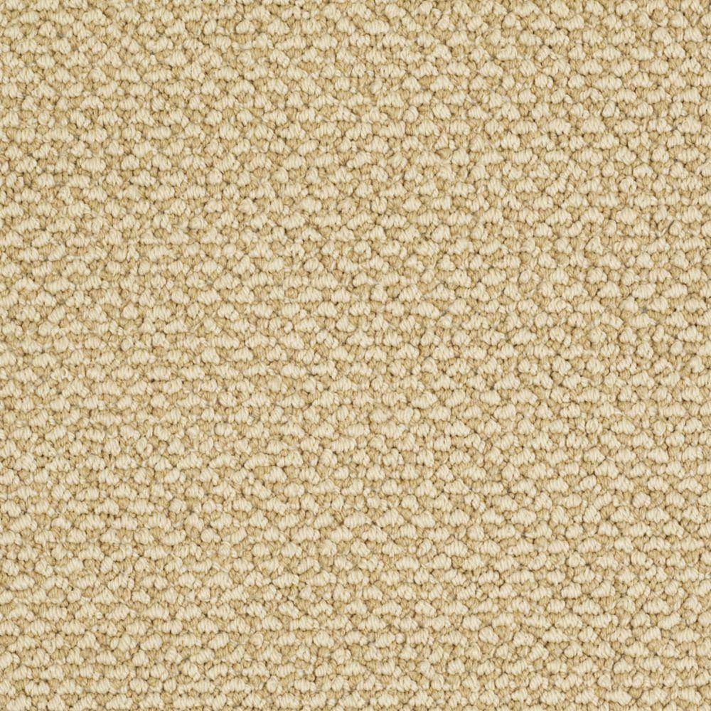 Martha Stewart Living Whitford Bay - Color Burlap 6 in. x 9 in. Take Home Carpet Sample