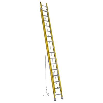 32 ft. Fiberglass D-Rung Extension Ladder with 375 lb. Load Capacity Type IAA Duty Rating