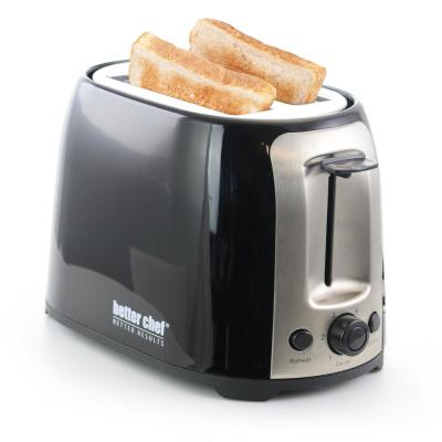 Cool Touch Black Wide-Slot Toaster