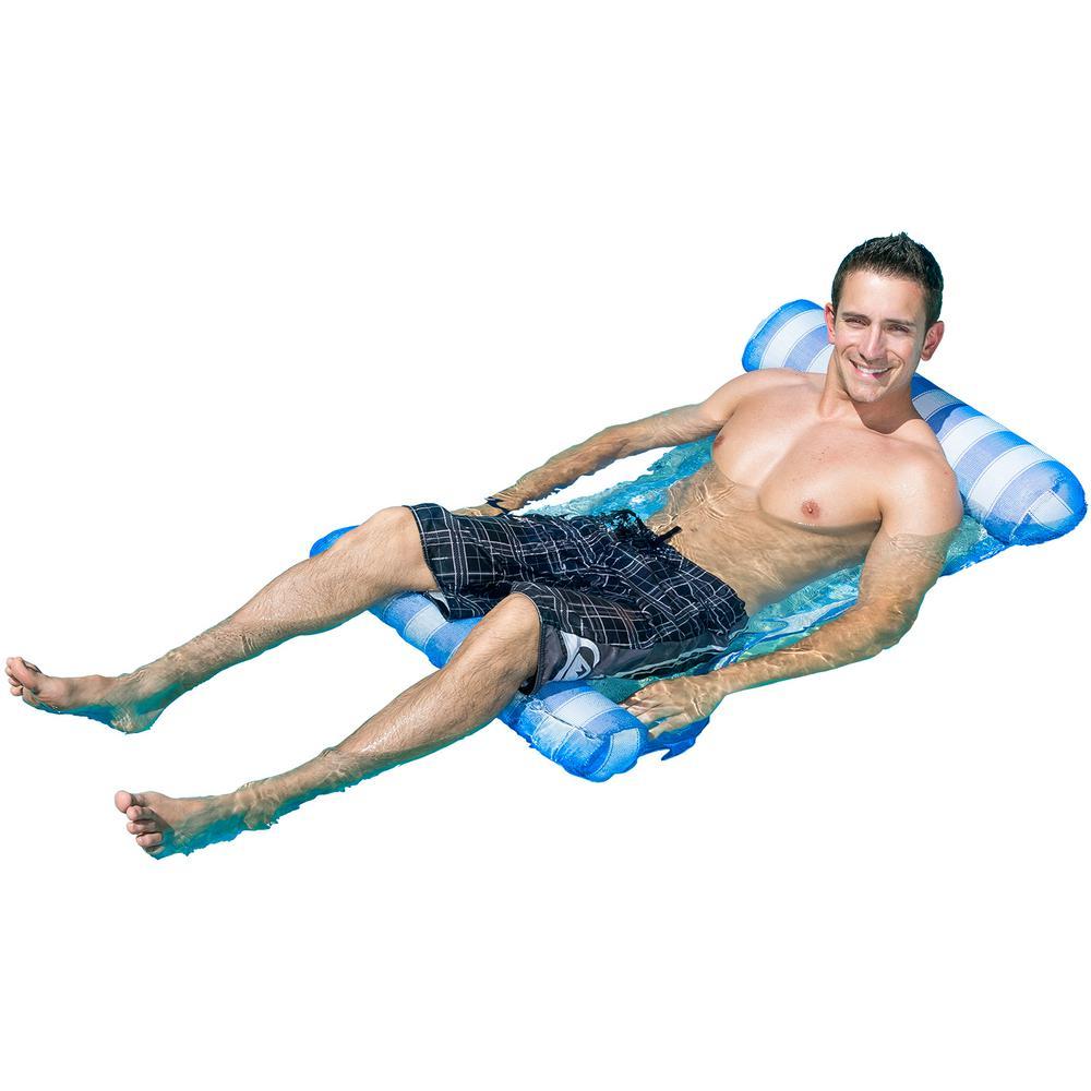 Poolmaster Blue Water Hammock Pool Lounge