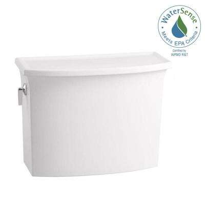 Archer 1.28 GPF Single Flush Toilet Tank Only with AquaPiston Flushing Technology in White