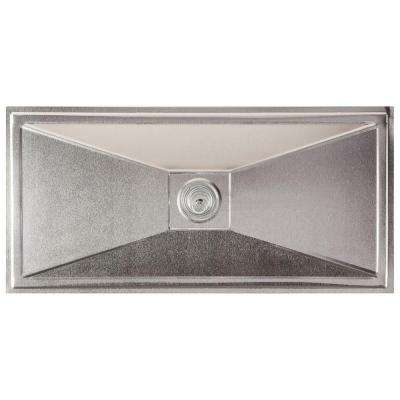 16 in. x 8 in. Aluminum Foundation Vent Cover (2-Pack)