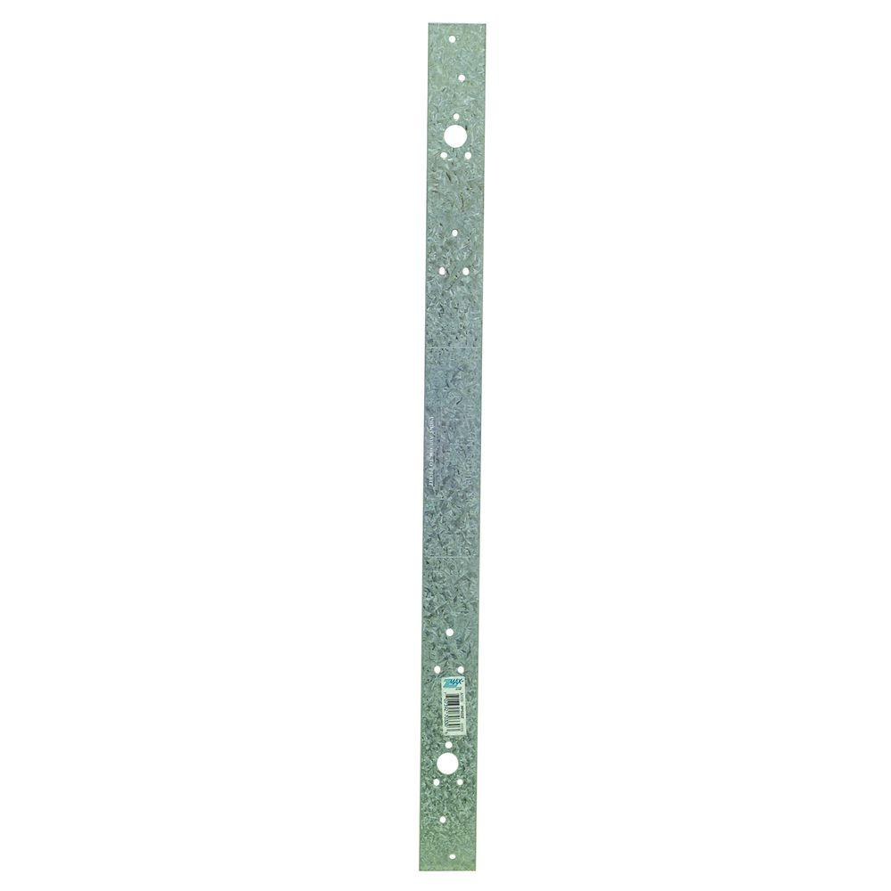 Simpson Strong-Tie RPS 22-5/16 in. 16-Gauge ZMAX Galvanized Retrofit Strap Tie