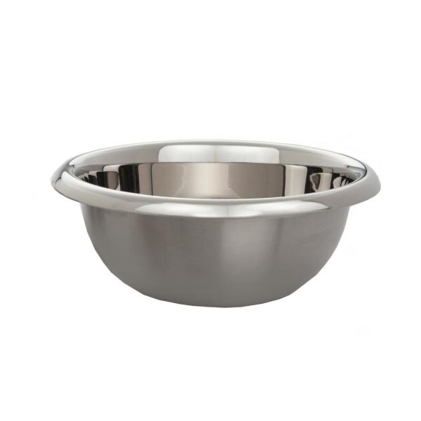ExcelSteel 4.5 Qt. Professional Heavy Duty Mixing Bowls with Easy Grip