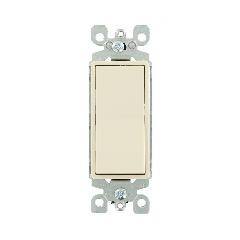 Leviton decora 15 amp illuminated rocker switch light for Decora light switches