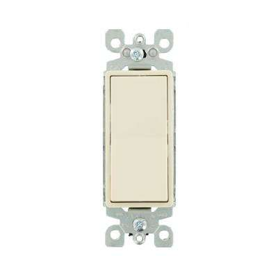 Decora 15 Amp Illuminated Rocker Switch, Light Almond