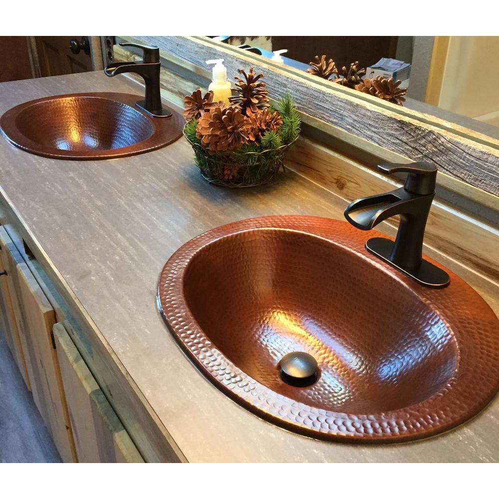 Sinkology Oval Drop In Bathroom Sink
