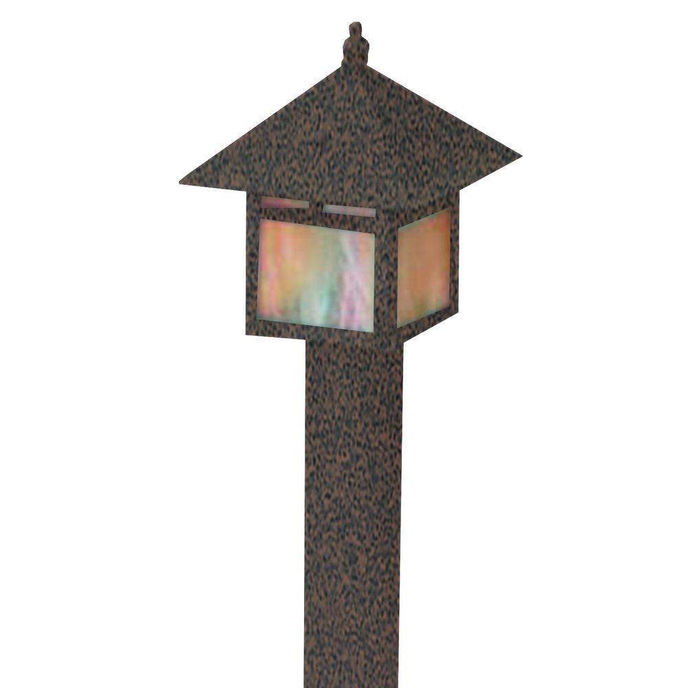Filament Design Centennial 1-Light Outdoor LED Weathered Brown Area Light