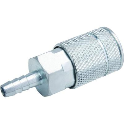 Zinc 1/4 in. x 1/4 in. Automotive Barbed Coupler
