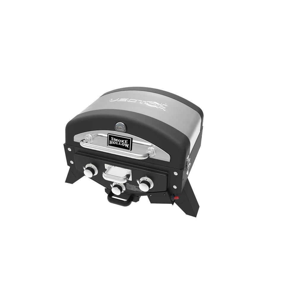 Smoke Hollow Vector Series 3-Burner Portable Liquid Propa...