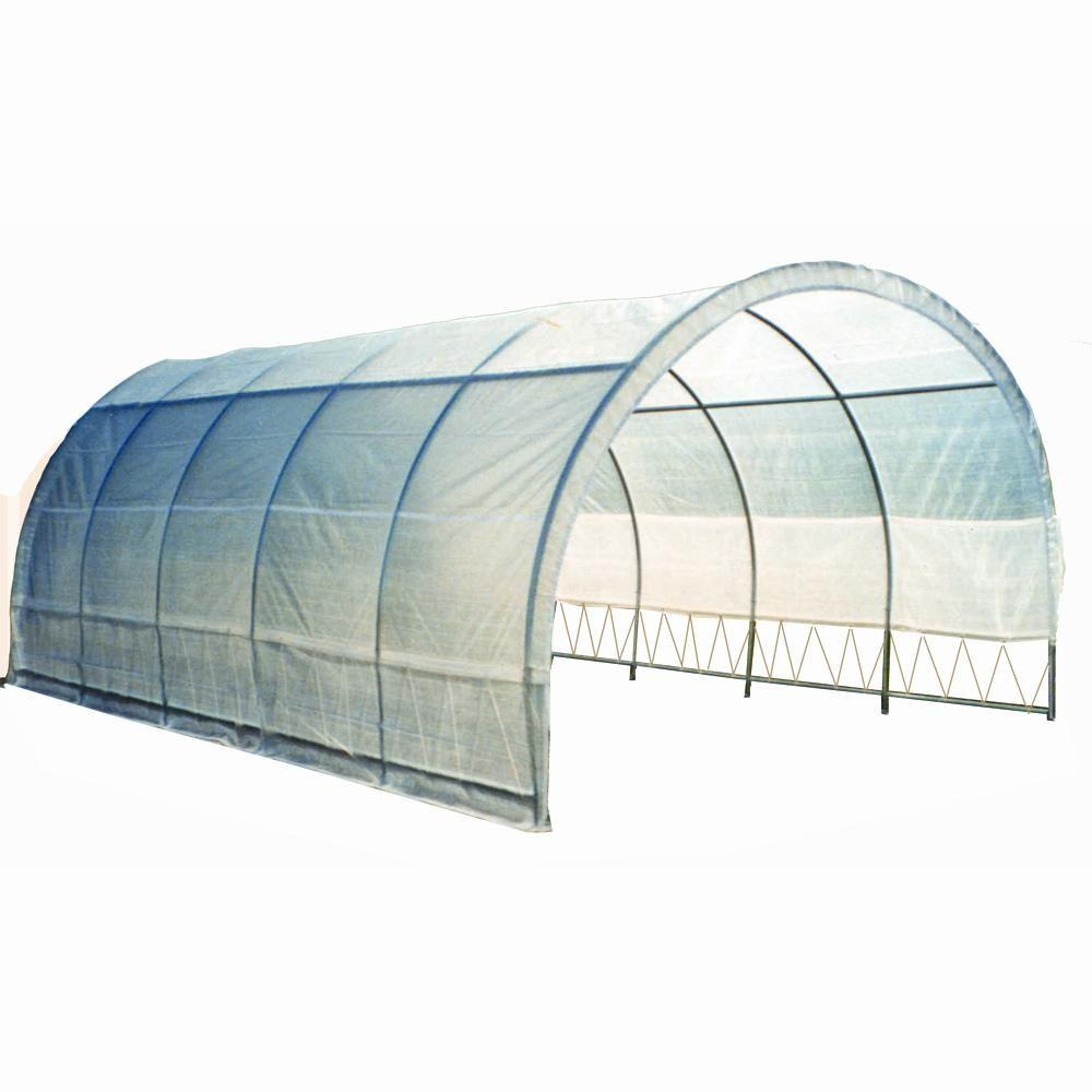 Weatherguard 8 ft. x 12 ft. x 20 ft. Round Top Commercial Greenhouse