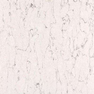2 in. x 4 in. Quartz Countertop Samples in White Arabesque