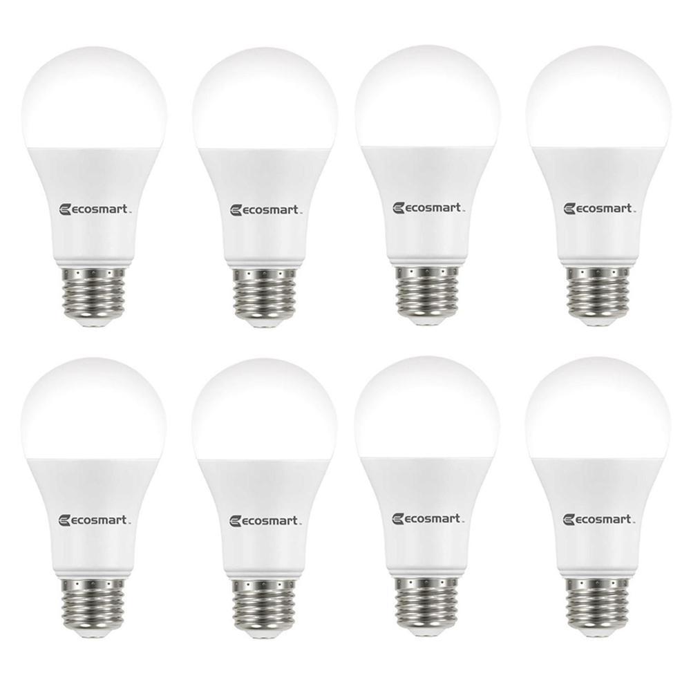 100-Watt Equivalent A19 Dimmable ENERGY STAR LED Light Bulb Soft White (8-Pack)