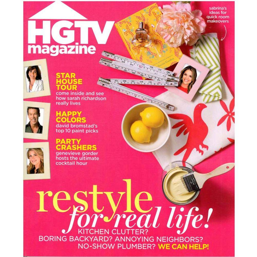 hgtv magazine08581 the home depot