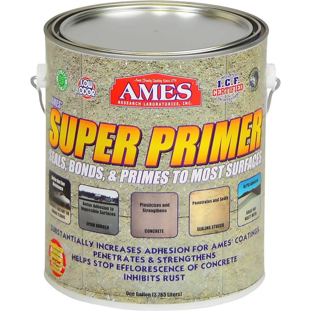 Super Primer 1 Gallon Acrylic Clear Adhesive