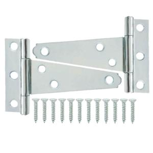 3 in. Zinc-Plated Tee Hinge (2-Pack)