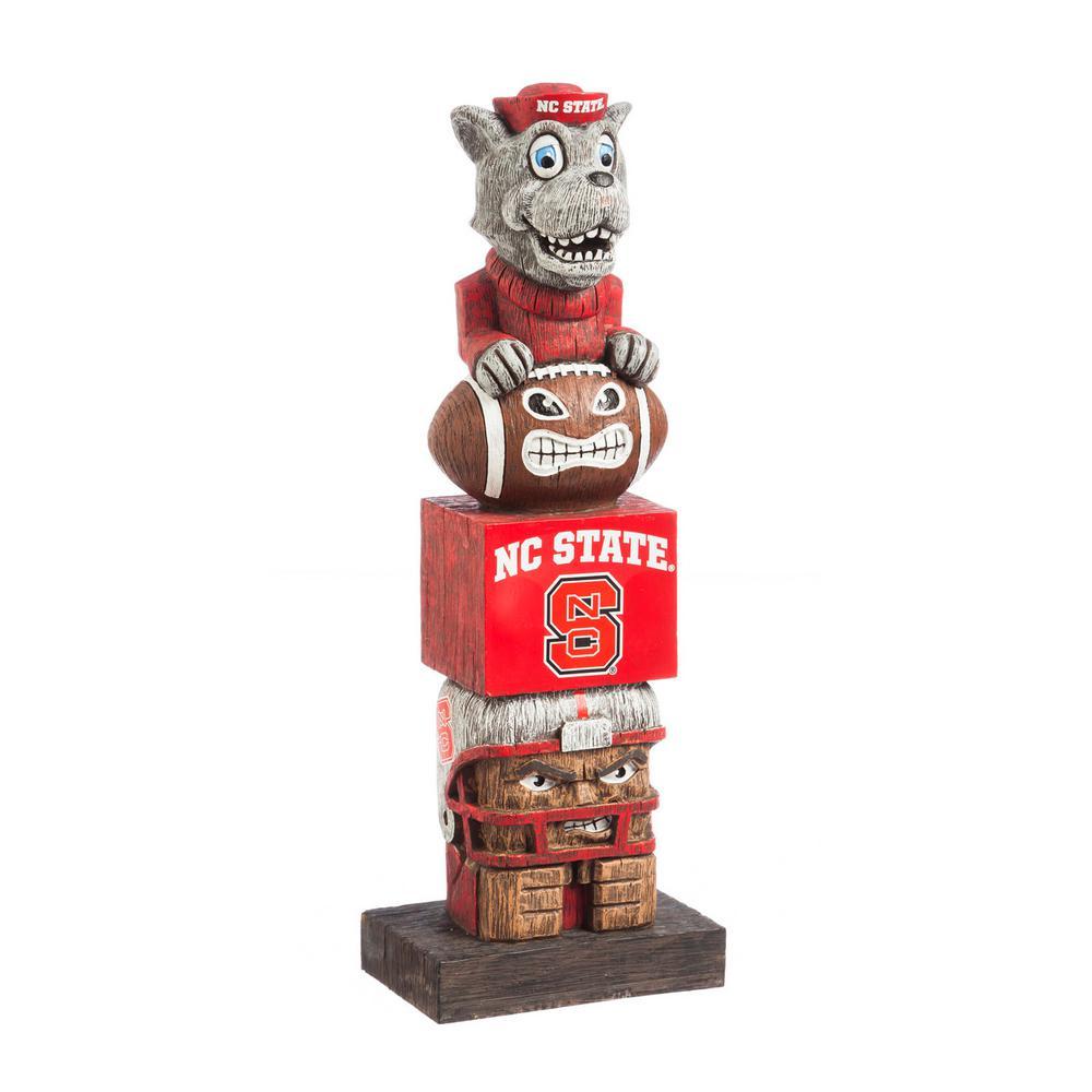 North Carolina State Tiki Totem Garden Statue