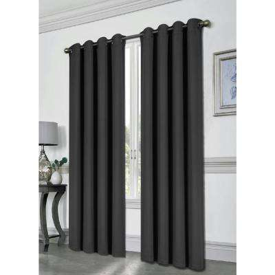 Tessa 54 in x 84 in Grommet Blackout Panel