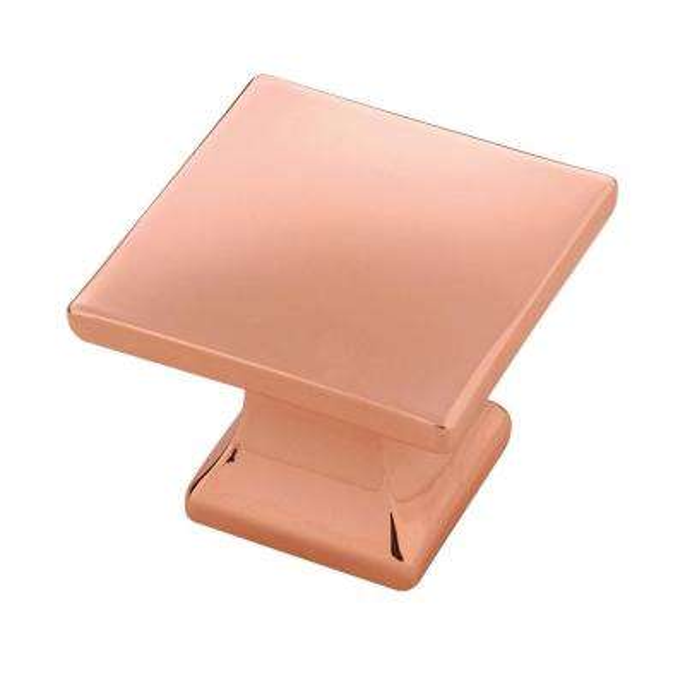 Studio Collection 1-1/4 in. Dia Polished Copper Finish Cabinet Knob