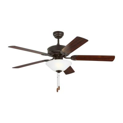 Haven LED 2 52 in. Indoor Bronze Ceiling Fan with Light Kit