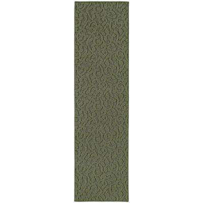 Ivy 3 Ft. x 12 Ft. Area Rug Runner Sage