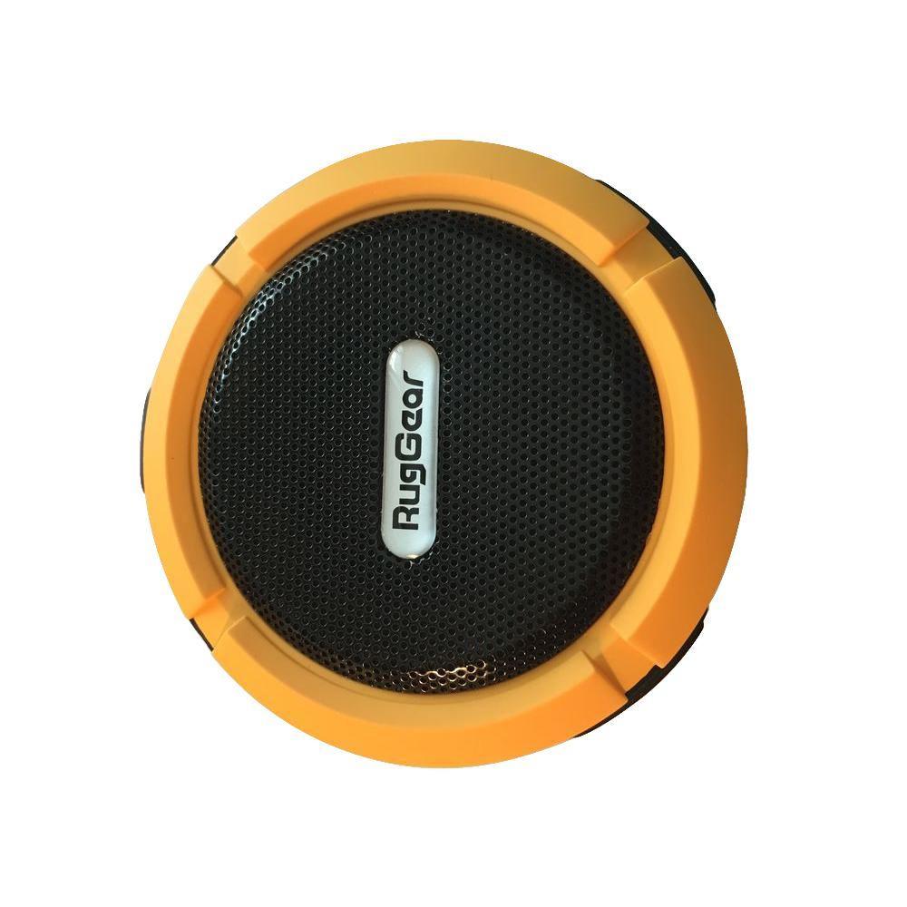 Shower Speaker Wireless Waterproof Speaker with 5-Watt Drive Suction Cup Buit-in