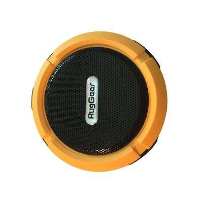 Shower Speaker Wireless Waterproof Speaker with 5-Watt Drive Suction Cup Built-in Mic Hands-Free Speakerphone