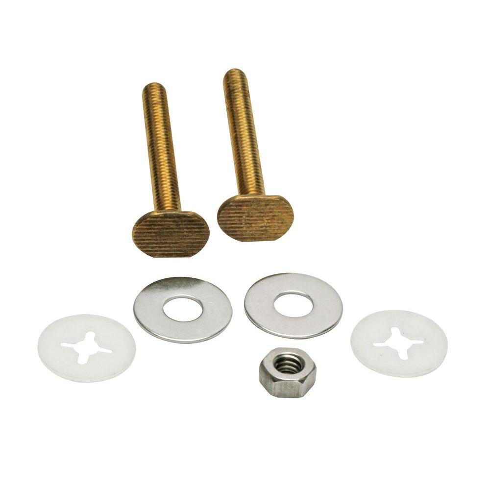 Fluidmaster 2-1/4 in. Bowl to Floor Bolts