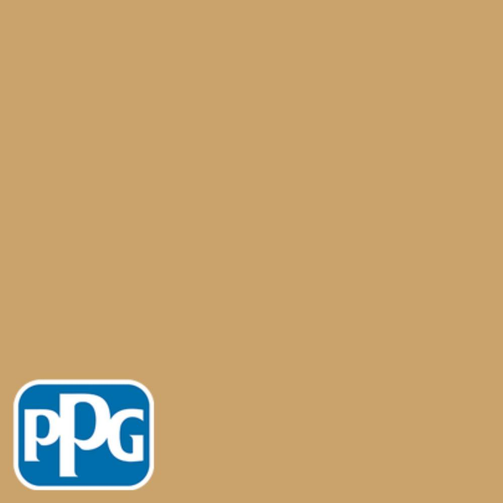 8 oz. #HDPPG1N23 Cognac Brandy Flat Interior/Exterior Paint Sample